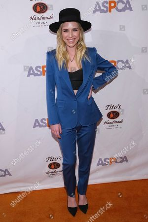 Recording artist ZZ Ward attends the 20th Annual ASPCA Bergh Ball and After Dark Party at The Plaza Hotel, in New York