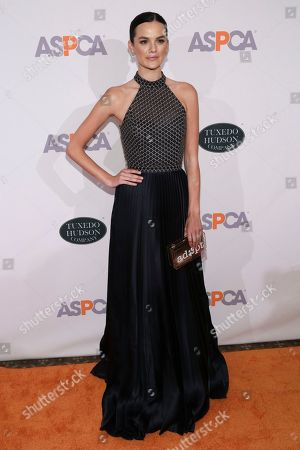 Model Allie Rizzo attends the 20th Annual ASPCA Bergh Ball and After Dark Party at The Plaza Hotel, in New York