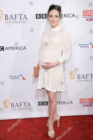 Lara Pulver attends the 2017 BAFTA Los Angeles Awards Season Tea Party held at Four Seasons Hotel, in Los Angeles