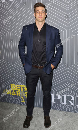 Jake Allyn arrives at the BET Chairman and CEO Debra Lee's PRE, a BET Awards Dinner for the 17th Annual BET Awards at The London West Hollywood at Beverly Hills, in West Hollywood, Calif