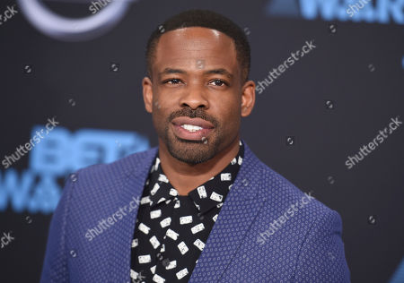 Chike Okonkwo arrives at the BET Awards at the Microsoft Theater, in Los Angeles