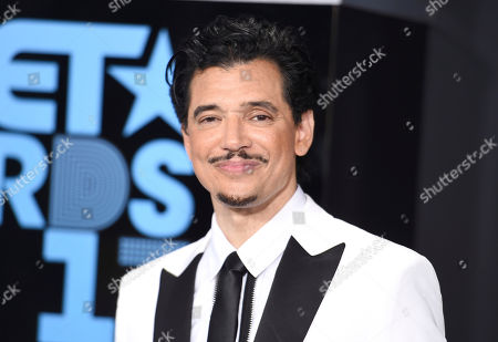 El DeBarge arrives at the BET Awards at the Microsoft Theater, in Los Angeles