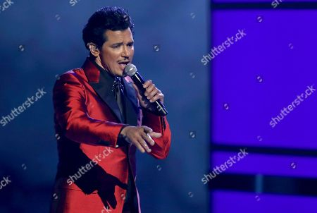 "Stock Photo of El DeBarge performs ""Careless Whisper"" at the BET Awards at the Microsoft Theater, in Los Angeles"