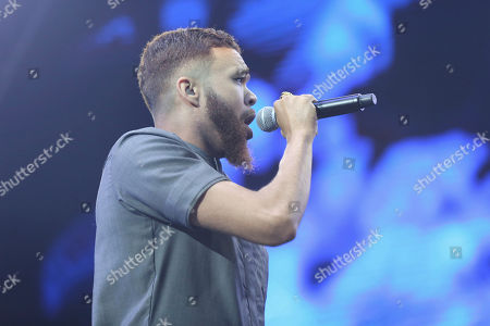 Jidenna performs at the 2017 BET Experience at The Staples Center, in Los Angeles