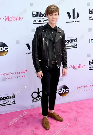 Jordan Doww arrives at the Billboard Music Awards at the T-Mobile Arena, in Las Vegas