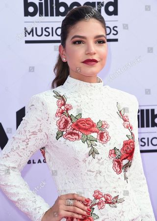 Alexys Gabrielle arrives at the Billboard Music Awards at the T-Mobile Arena, in Las Vegas