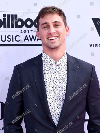 Cody Johns arrives at the Billboard Music Awards at the T-Mobile Arena, in Las Vegas