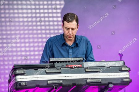 Gerrit Welmers of Future Islands performs at the Bonnaroo Music and Arts Festival, in Manchester, Tenn