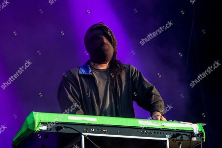 Ethan Kath of Crystal Castles performs at the Bonnaroo Music and Arts Festival, in Manchester, Tenn