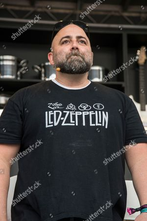 Duff Goldman seen at BottleRock Napa Valley Music Festival at Napa Valley Expo, in Napa, Calif
