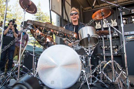 Matt Sorum seen at BottleRock Napa Valley Music Festival at Napa Valley Expo, in Napa, Calif