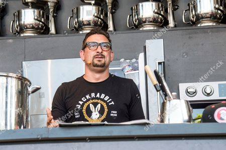 Stock Photo of Chris Cosentino seen at BottleRock Napa Valley Music Festival at Napa Valley Expo, in Napa, Calif