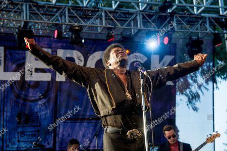 Charles Bradley performs at BottleRock Napa Valley Music Festival at Napa Valley Expo, in Napa, Calif