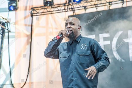 Tech N9ne performs at the Bunbury Music Festival, in Cincinnati