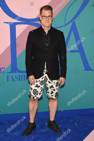 John Bartlett attends the CFDA Fashion Awards at the Hammerstein Ballroom, in New York