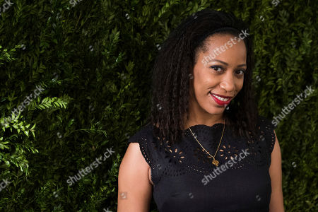 Stock Photo of Leah Natasha Thomas attends the Chanel Tribeca Film Festival Women's Filmmaker Luncheon at Odeon, in New York