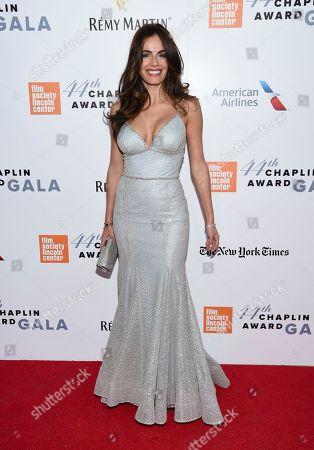 Actress Gabriela Dias attends the Film Society of Lincoln Center's 44th Annual Chaplin Award Gala honoring Robert De Niro at the David H. Koch Theater, in New York