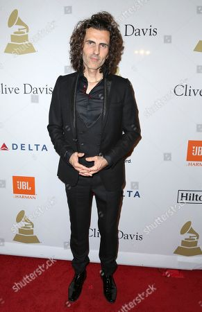 Stephan Moccio attends the Clive Davis and The Recording Academy Pre-Grammy Gala at The Beverly Hilton Hotel, in Beverly Hills, Calif
