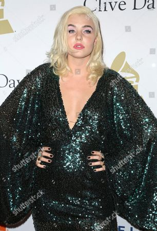 Maty Noyes attends the Clive Davis and The Recording Academy Pre-Grammy Gala at The Beverly Hilton Hotel, in Beverly Hills, Calif