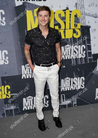 Ryan Follese arrives at the CMT Music Awards at Music City Center, in Nashville, Tenn
