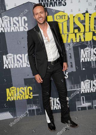 Stock Image of Drew Baldridge arrives at the CMT Music Awards at Music City Center, in Nashville, Tenn