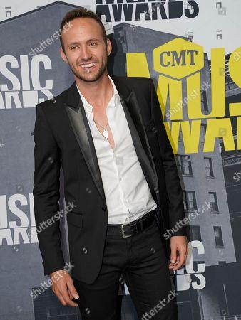 Stock Picture of Drew Baldridge arrives at the CMT Music Awards at Music City Center, in Nashville, Tenn