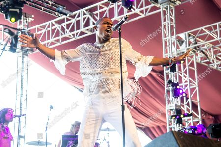 Stock Photo of Raury performs at Coachella Music & Arts Festival at the Empire Polo Club, in Indio, Calif