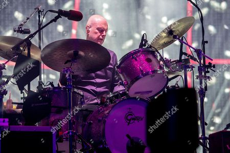 Philip Selway of Radiohead performs at Coachella Music & Arts Festival at the Empire Polo Club, in Indio, Calif