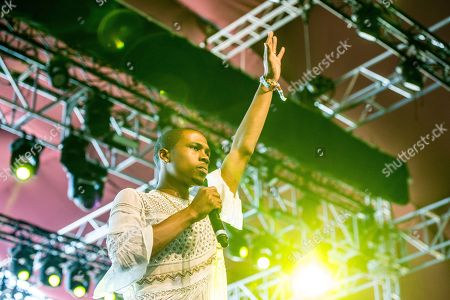 Raury performs at Coachella Music & Arts Festival at the Empire Polo Club, in Indio, Calif