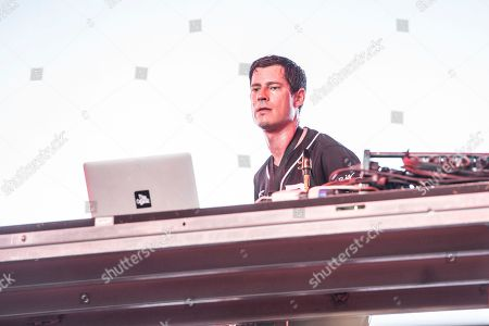 Dominic Lalli of Big Gigantic performs at Coachella Music & Arts Festival at the Empire Polo Club, in Indio, Calif