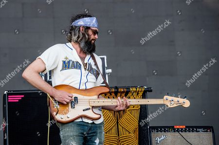Chris Zasche of The Head and the Heart performs at Coachella Music & Arts Festival at the Empire Polo Club, in Indio, Calif