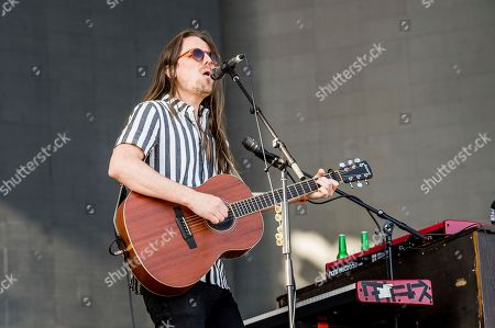 Josiah Johnson of The Head and the Heart performs at Coachella Music & Arts Festival at the Empire Polo Club, in Indio, Calif