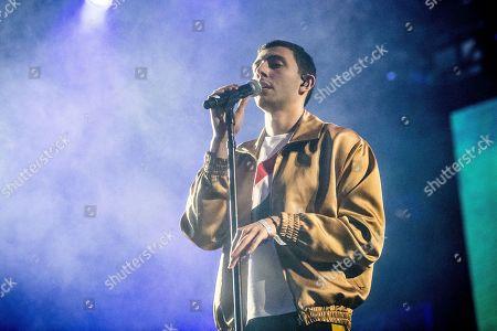 Majid Al Maskati of Majid Jordan performs at Coachella Music & Arts Festival at the Empire Polo Club, in Indio, Calif