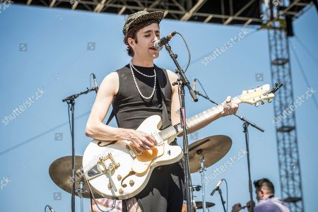Ezra Furman performs at Coachella Music & Arts Festival at the Empire Polo Club, in Indio, Calif