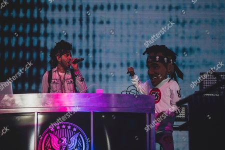 Stock Picture of DJ Esco performs at Coachella on Friday, April, 22, 2017, in Indio, CA