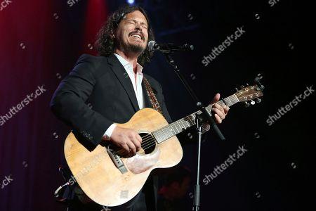 Artist John Paul White performs at the Dylan Fest at Ryman Auditorium on in Nashville, Tenn