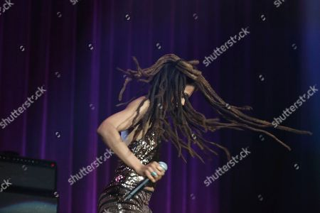 Artist Valerie June performs at the Dylan Fest at Ryman Auditorium on in Nashville, Tenn