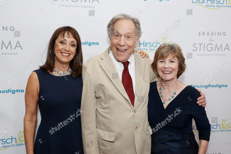 Event Chair Laura Ornest, George Segal and Dr. Kita S. Curry - President/CEO Didi Hirsch Mental Health Services seen at the 2017 Erasing the Stigma Leadership Awards on in Beverly Hills, CA
