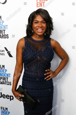 Edwina Findley Dickerson arrives at the 2017 Film Independent Filmmaker Grant and Spirit Award Nominees Brunch, in West Hollywood, Calif
