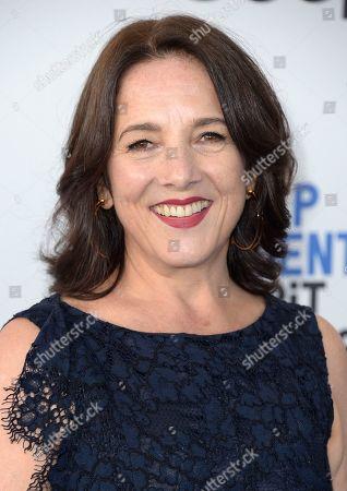 Paulina Garcia arrives at the Film Independent Spirit Awards, in Santa Monica, Calif