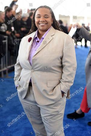 Tina Mabry arrives at the Film Independent Spirit Awards, in Santa Monica, Calif