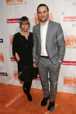 Actor Dominic Fumusa, right, and guest attend the Food Bank for New York City Can-Do Awards at Cipriani Wall Street, in New York