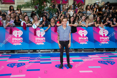 Scott Helman arrives at the iHeartRadio Much Music Video Awards, in Toronto, Canada