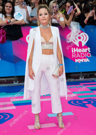 Delaney Jane arrives at the iHeartRadio Much Music Video Awards, in Toronto, Canada