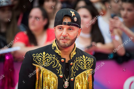 Stock Picture of Karl Wolf arrives at the iHeartRadio Much Music Video Awards, in Toronto, Canada