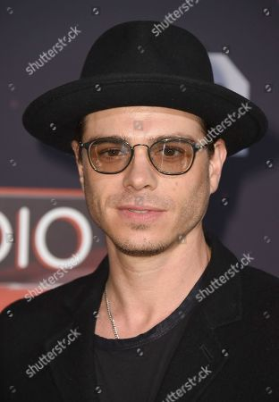 Matthew Lawrence arrives at the iHeartRadio Music Awards at the Forum, in Inglewood, Calif
