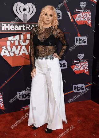 Editorial picture of 2017 iHeartRadio Music Awards - Arrivals, Inglewood, USA - 5 Mar 2017