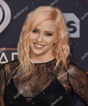 Editorial photo of 2017 iHeartRadio Music Awards - Arrivals, Inglewood, USA - 5 Mar 2017