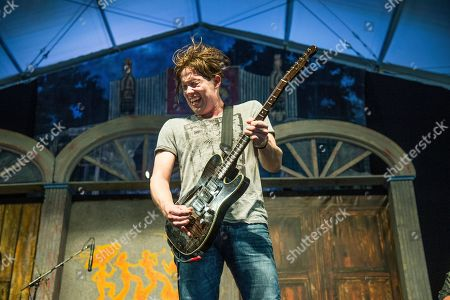 Johnny Lang performs at the New Orleans Jazz and Heritage Festival, in New Orleans