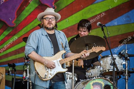 Jeff Tweedy of Wilco performs at the New Orleans Jazz and Heritage Festival, in New Orleans
